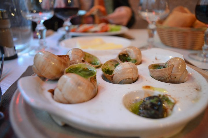 I'd like to be daydreaming about escargot in Paris but all I can think about is how many Euros it's going to cost me!