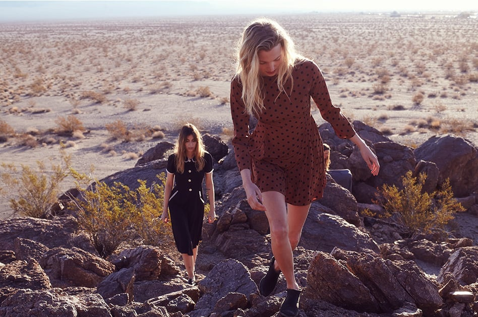 Christy Dawn dresses are made in LA from surplus fabric. Image via anniezhu.com