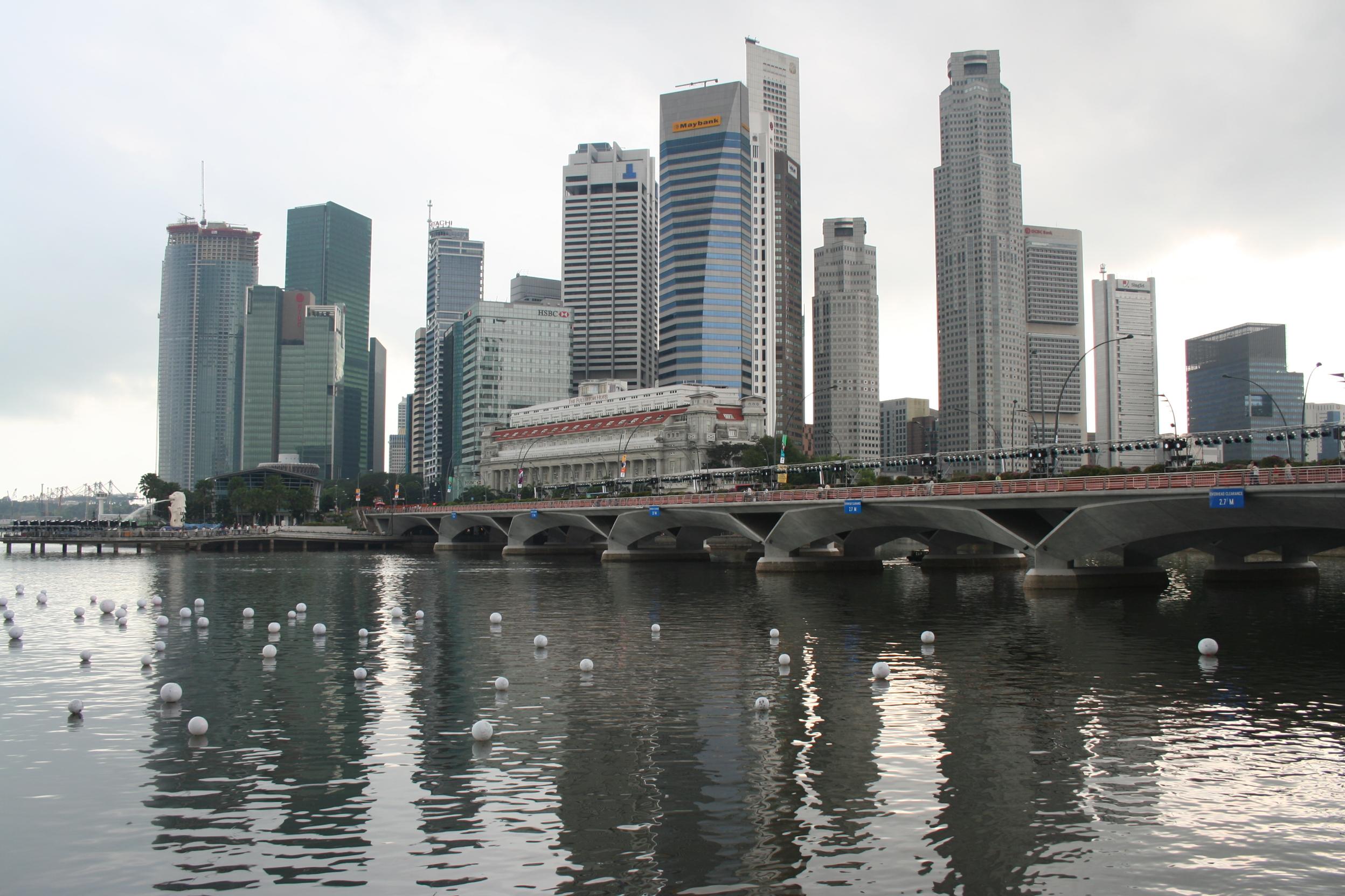 Culture shock in Singapore