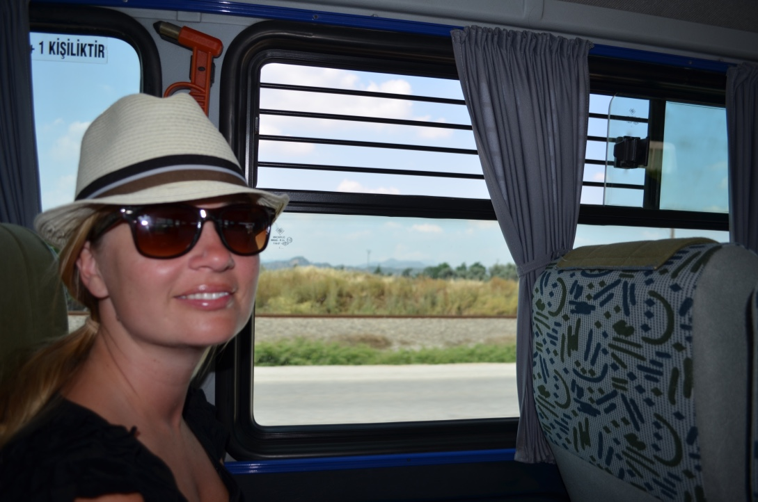 Travelling in style by bus in Turkey