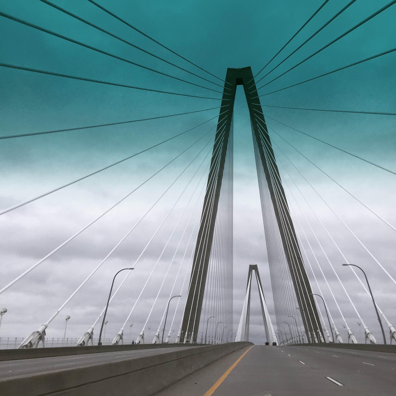 Ghost town....Charleston, South Carolina was evacuated during Hurricane Matthew. Photo via @marygenearmstrong