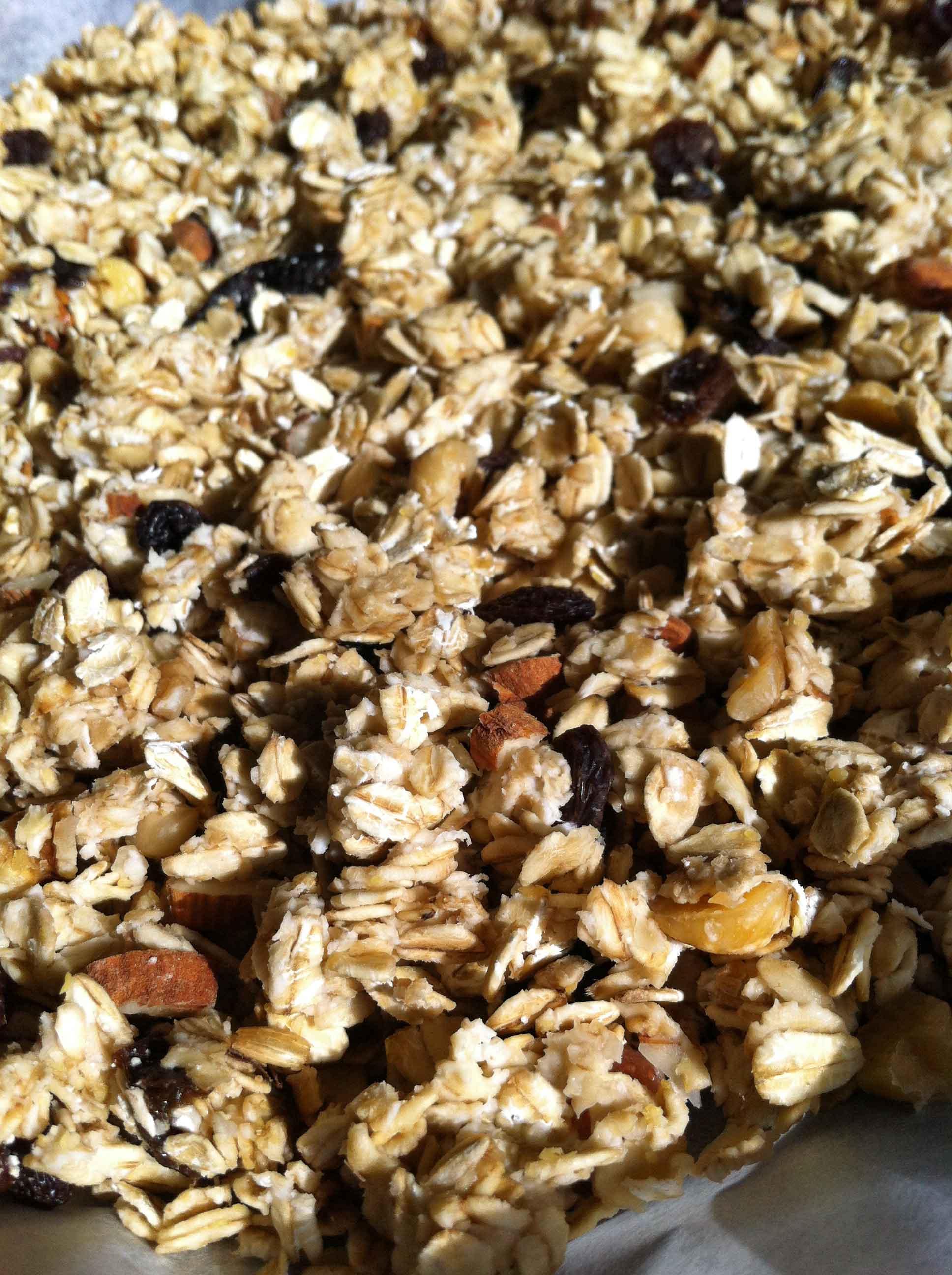 Home made organic granola from Fattoria Barbialla Nuova