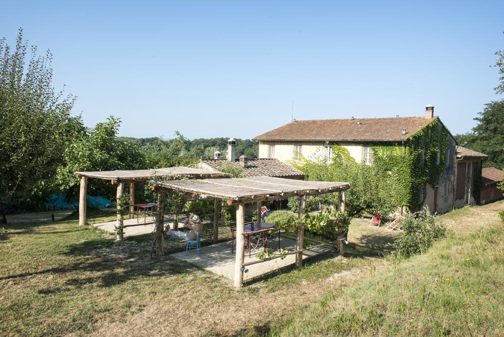 The pergolas of Brentina Sud and Brentina Est
