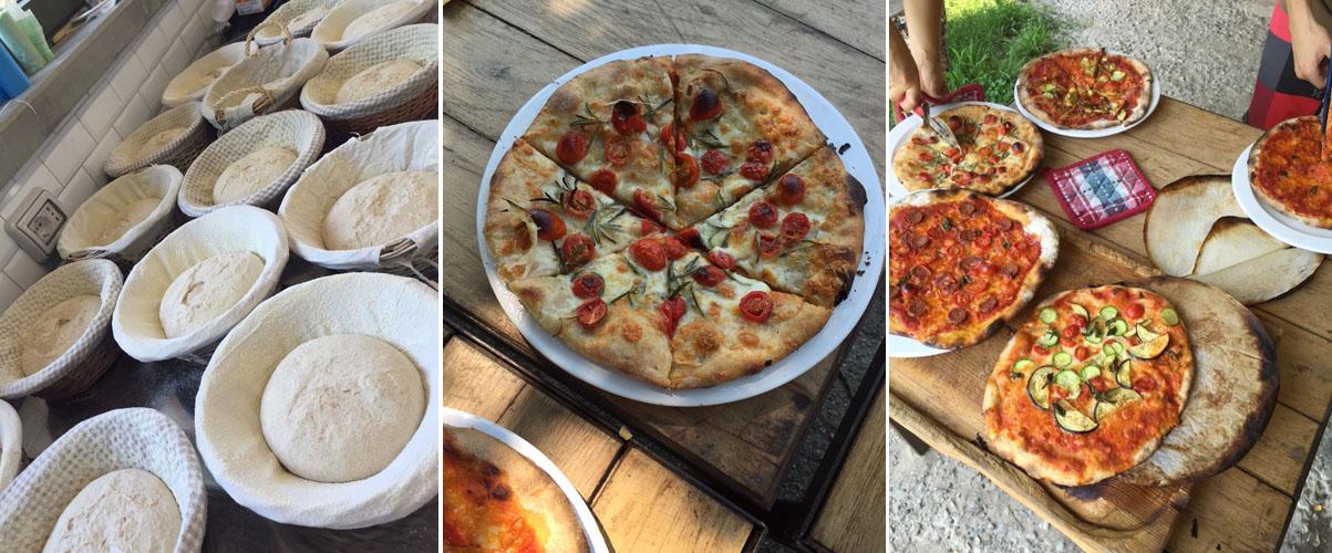 Bread and Pizza making in Barbialla Nuova