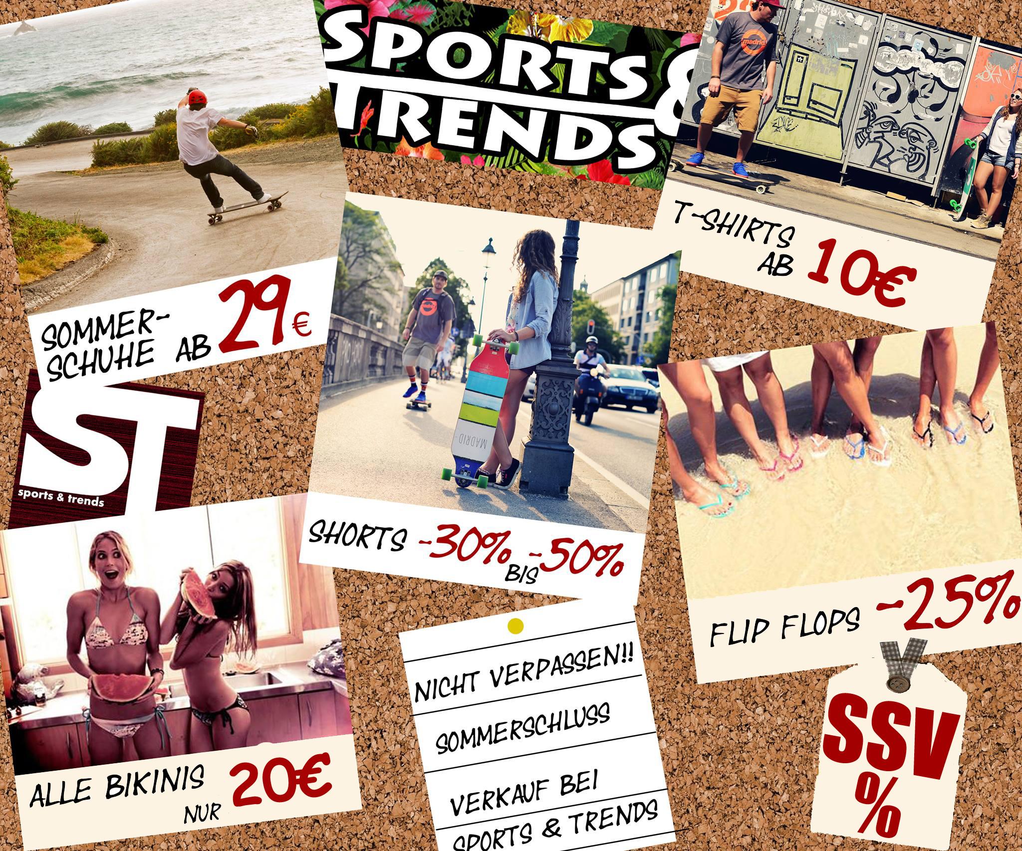 SSV bei Sports&Trends