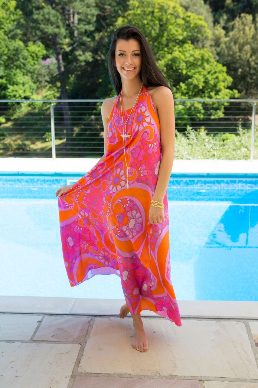 Balar silk dresses, effortless style for the beach
