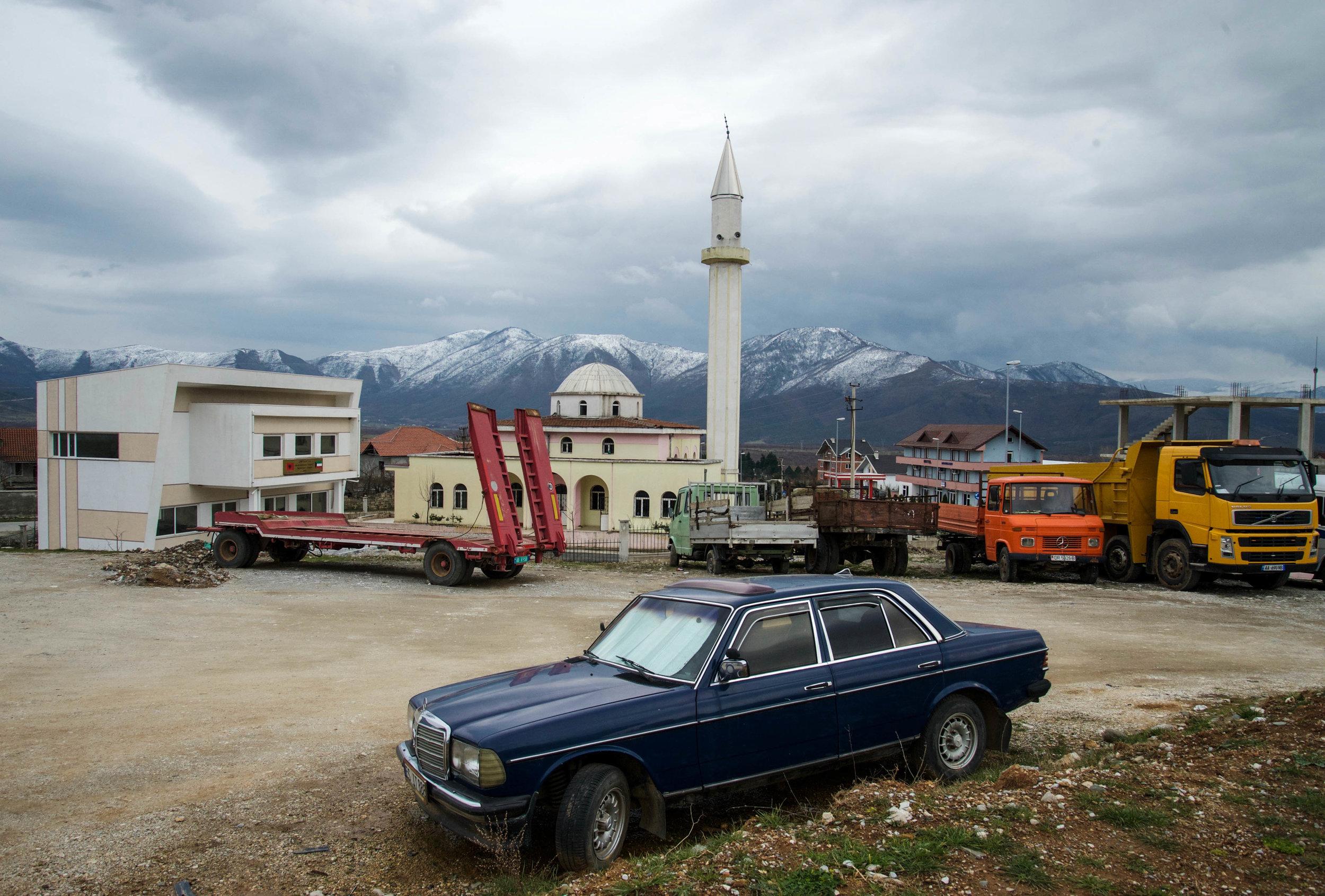 Bajram Curri, Albania.
