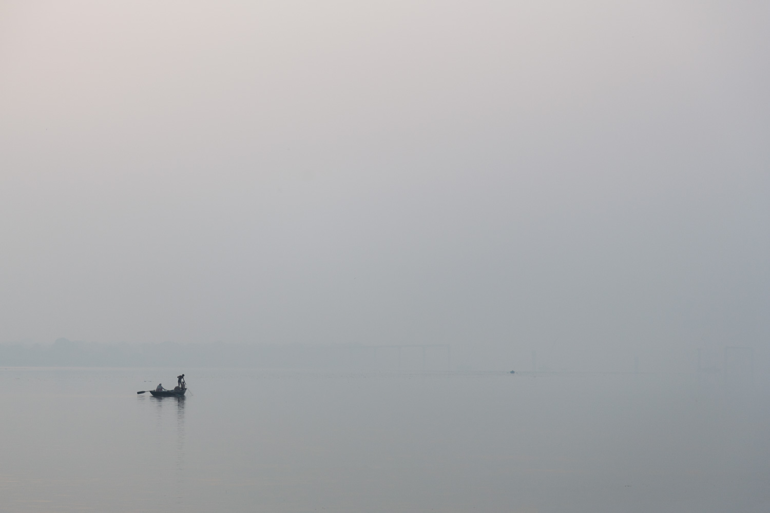Fishermen on the Ganges in Varanasi - Copyright: Daniel Hofmann