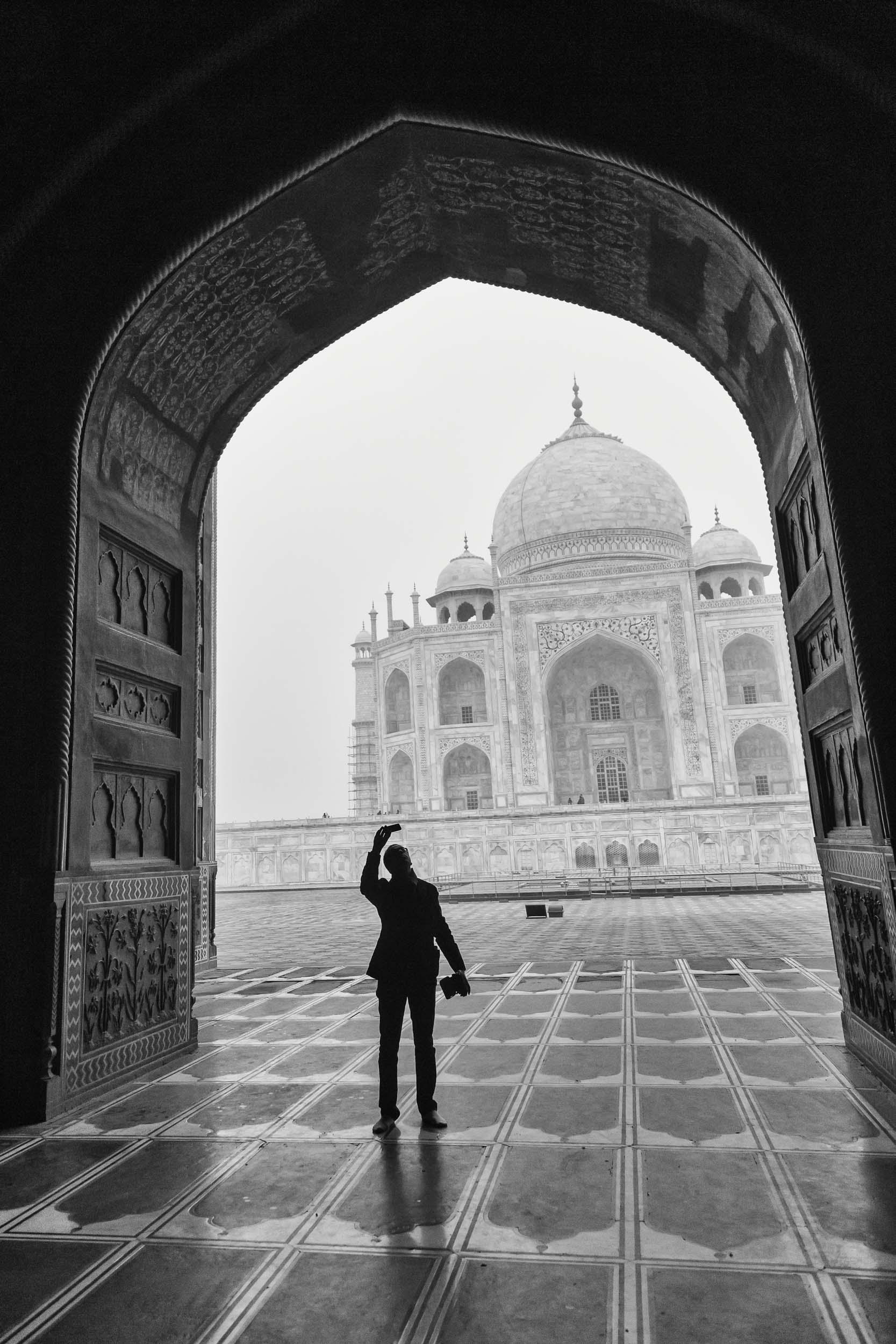 Photography from the Taj Mahal India