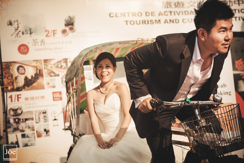 三輪拉車之我要娶妳走了。這張照片是Grace & Danny婚禮現場的放大照,非常有氣勢!意義非凡😎
