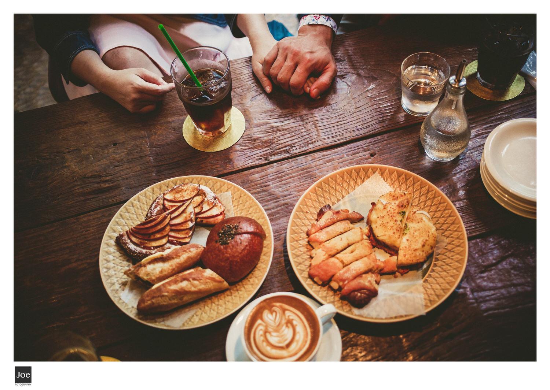 咖啡拿鐵、麵包與愛情😘