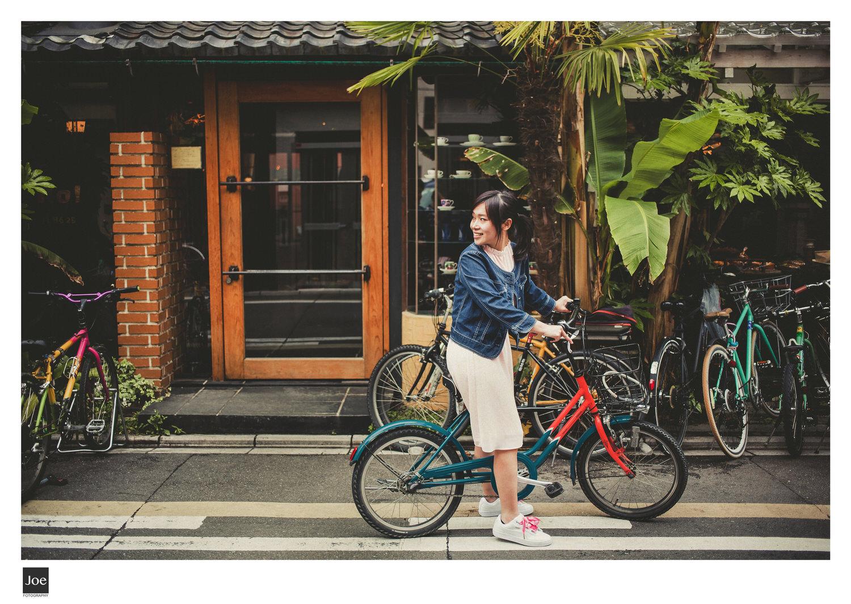建議大家騎單車來  Cafe Bibliotec Hello!  ,因為店的位置有些尷尬,在二条通和柳馬場通的轉角。