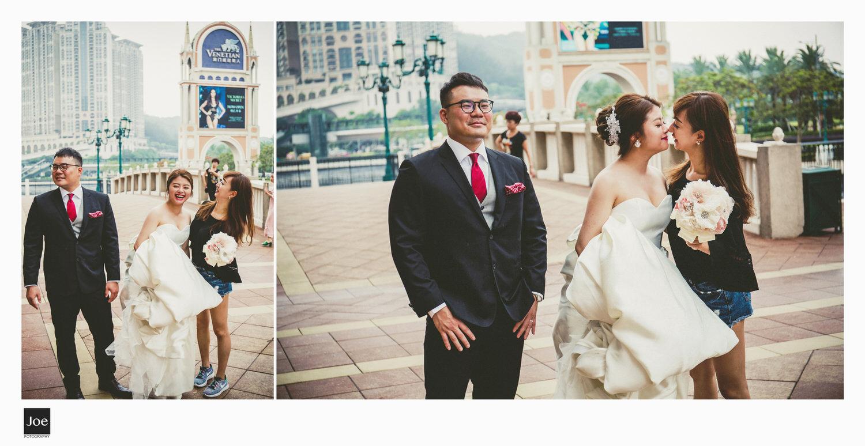 Jie和Min的好友Cindy :) 她絕對會是個襯職的伴娘,表現很好!