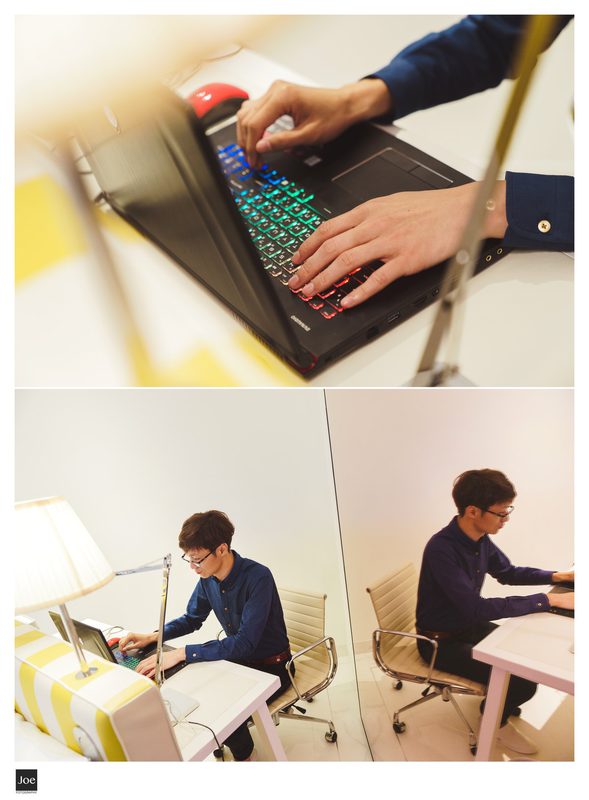 寫程式加班中的新郎...🤣