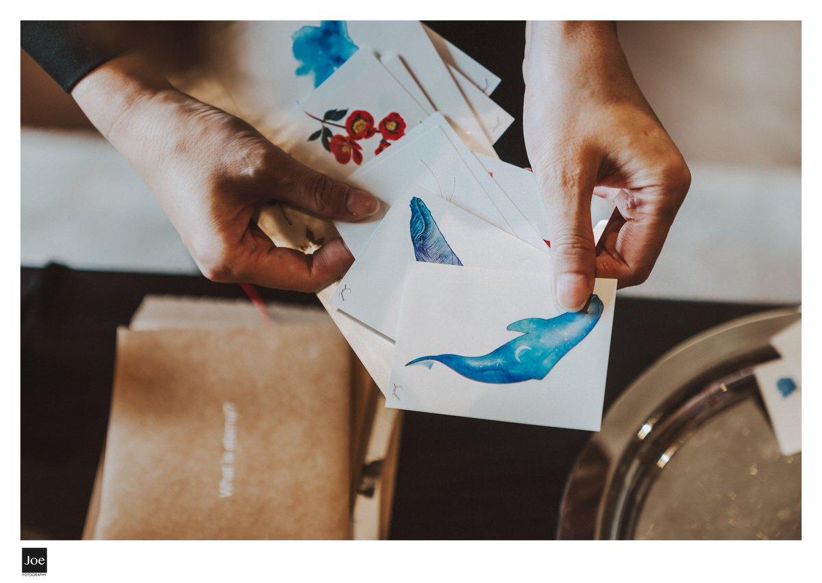 新娘自備的紋身貼紙探房禮。