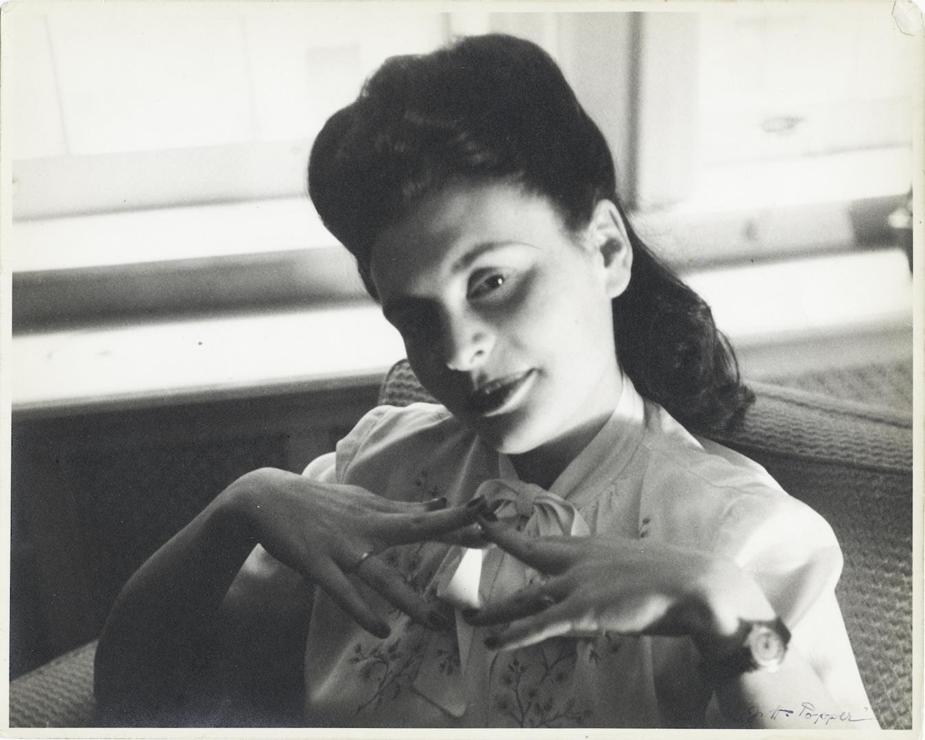 My Mother, Helena Segall, 1947.jpg