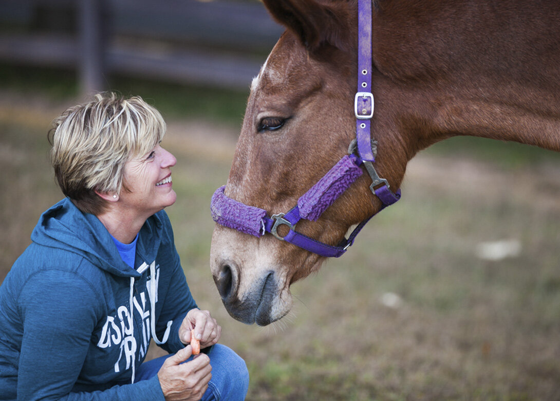 Lisa Snyder  Ranch Manager  Read her full bio here.
