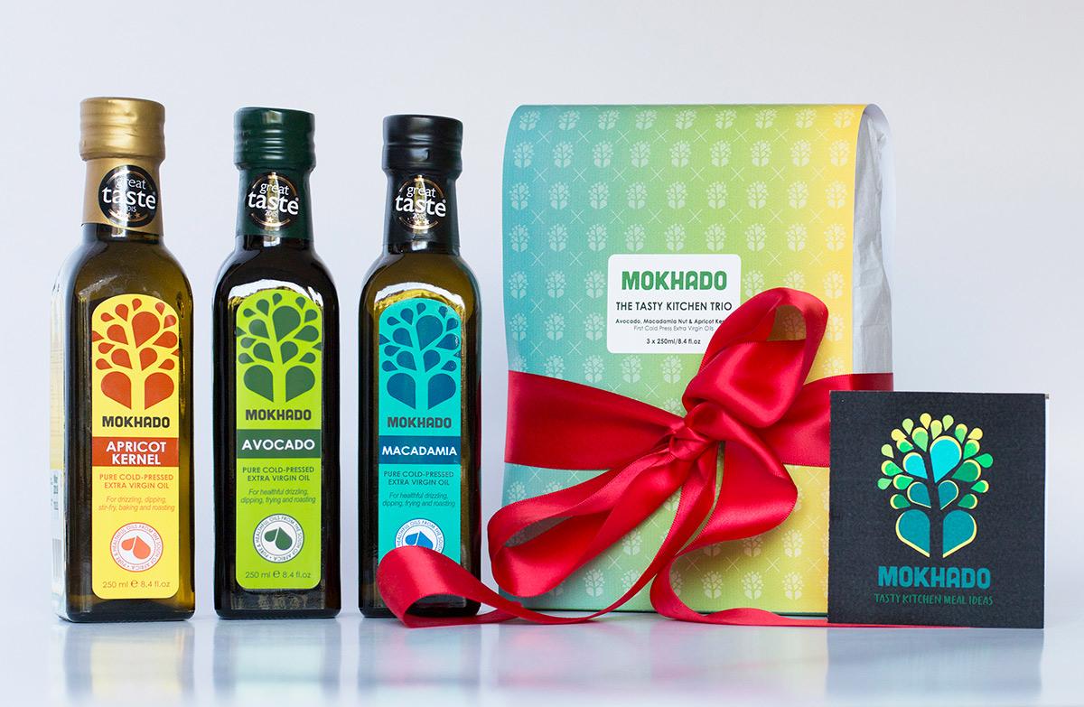 Mokhado Tasty Kitchen Trio Vegan Gift Set
