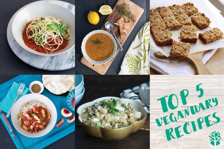 Top 5 Healthy Veganuary Vegan Recipes from Mokhado