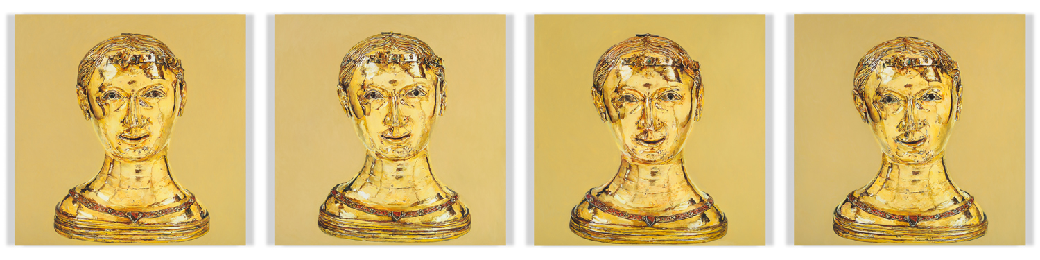 St Thecla, Bust Reliquary from the Upper Rhineland, 2010