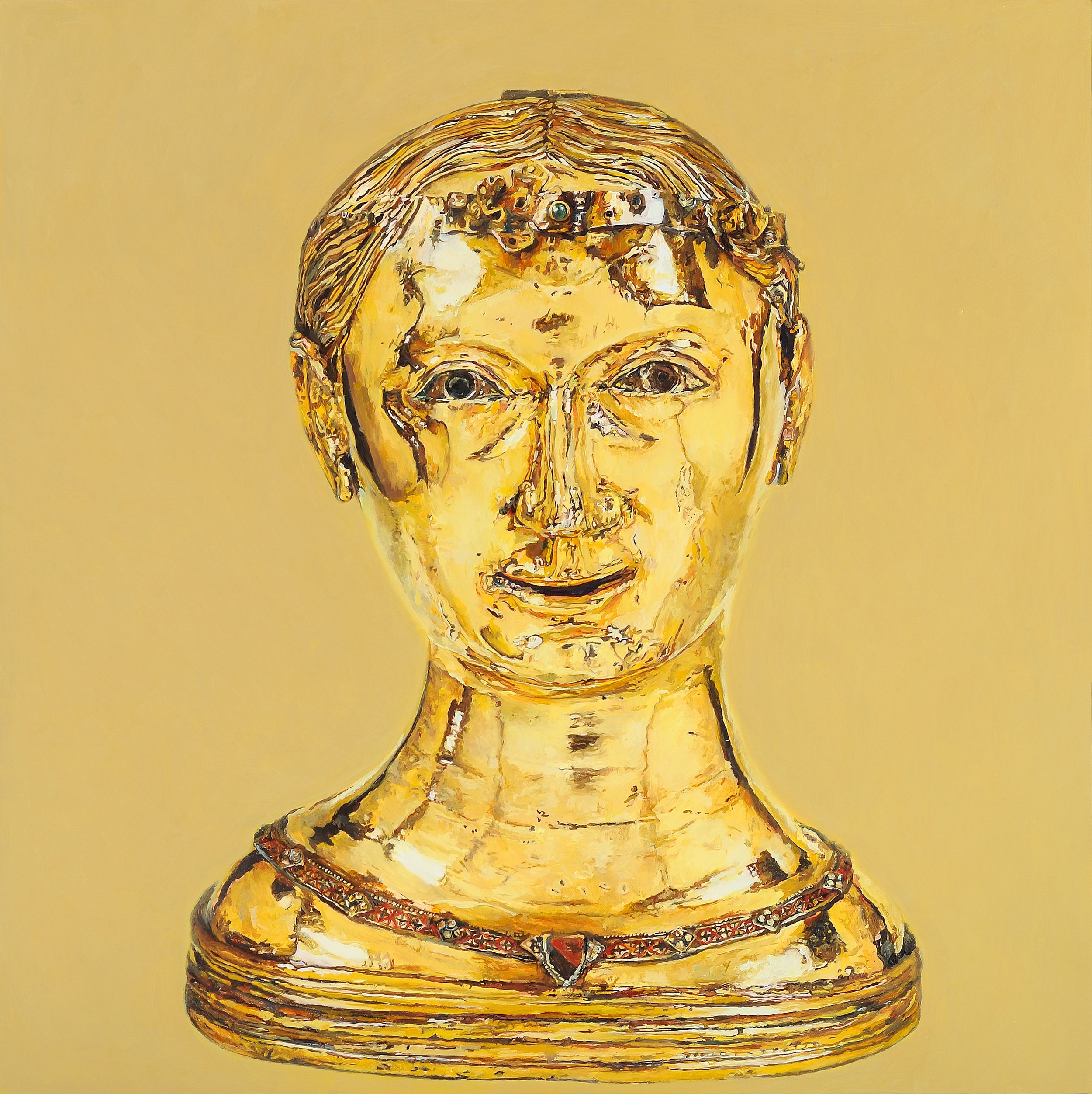 St Thecla, Bust Reliquary from the Upper Rhineland, 2010 (3)