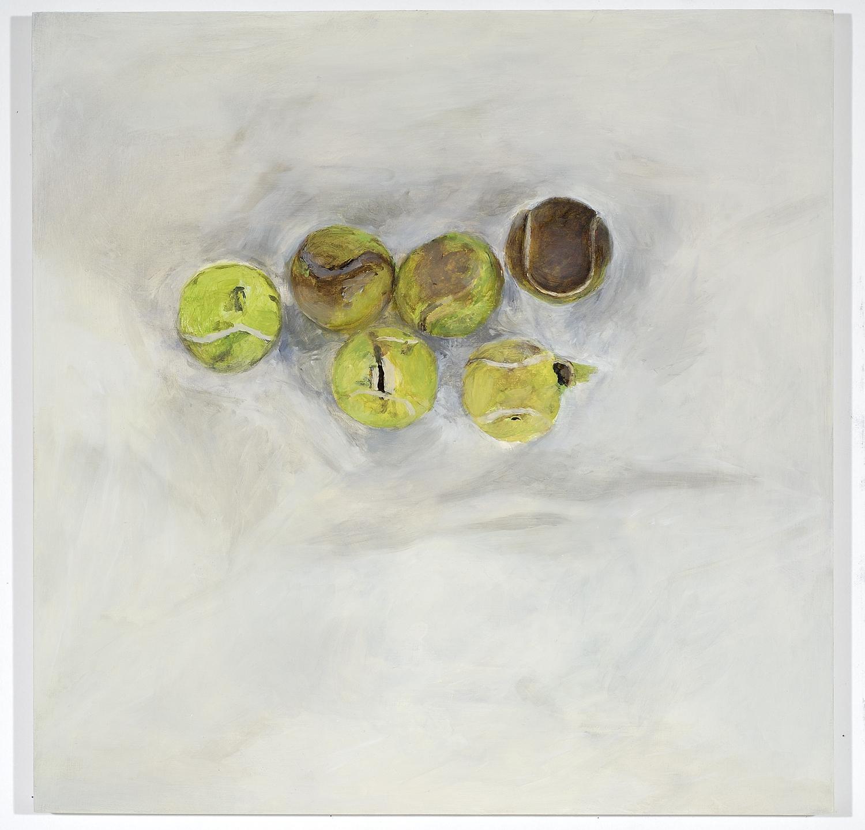 Six lost tennis balls, 2006
