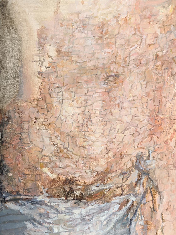 Detail, belly (Simon Marmion, Crucifixion) 2010