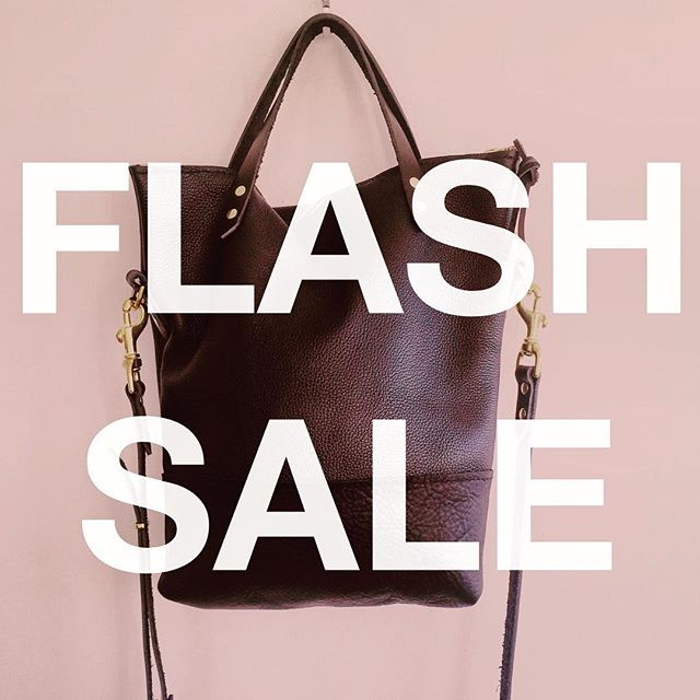 The miserable weather we've been having in Toronto has got us a little bummed out - and we are guessing you are feeling the same. So we've decided to help warm you up with a super duper FLASH SALE. Our biggest sale ever, up to 25% off select in-stock bags! There is only one of each available so get it while you can!  Visit www.nuhaus.co/shop for more