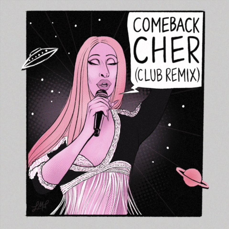 Miz Cracker - Comeback Cher (Adam Joseph Remix)