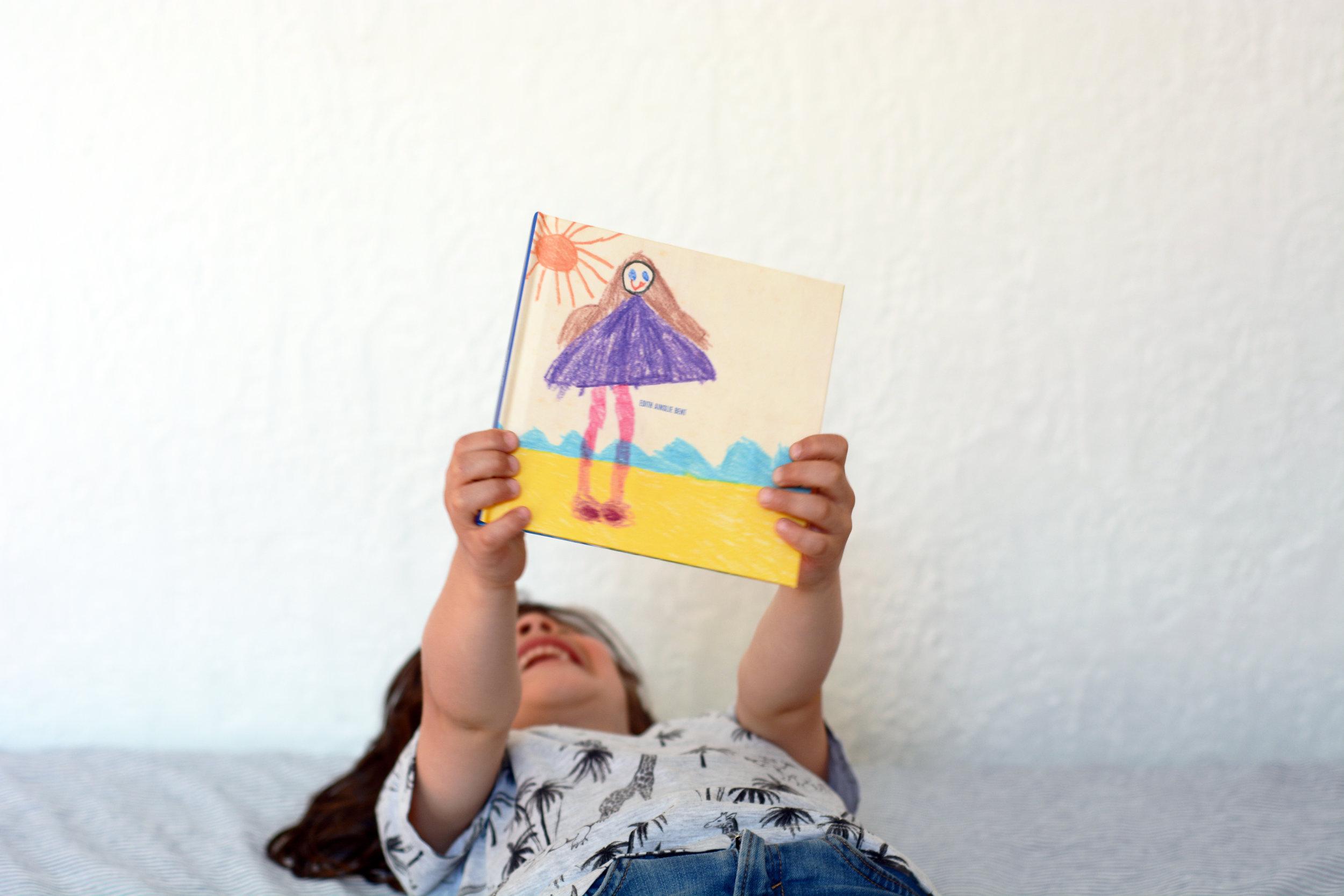 Transform your children's artwork into high-quality books