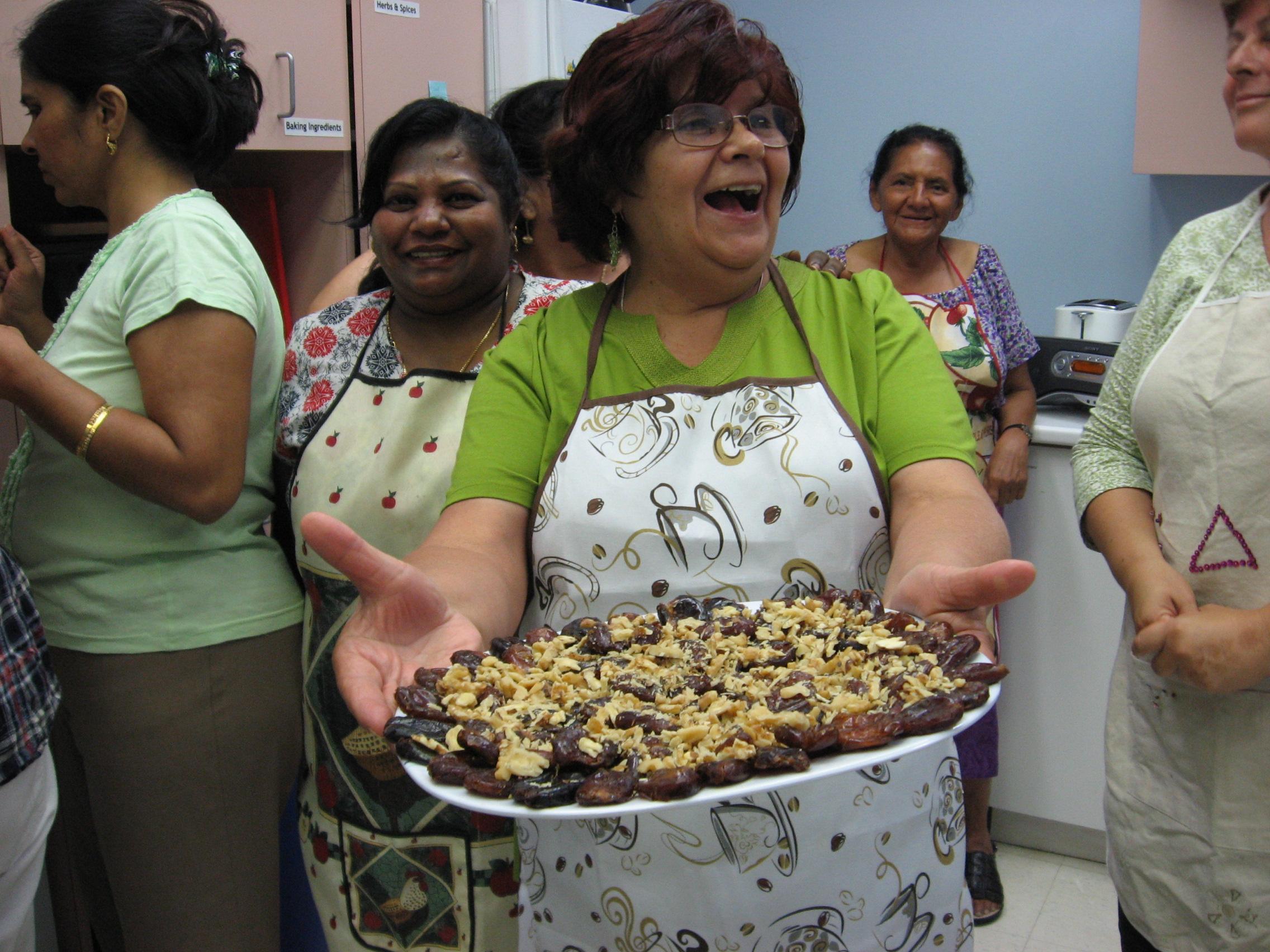 Community Kitchen participant