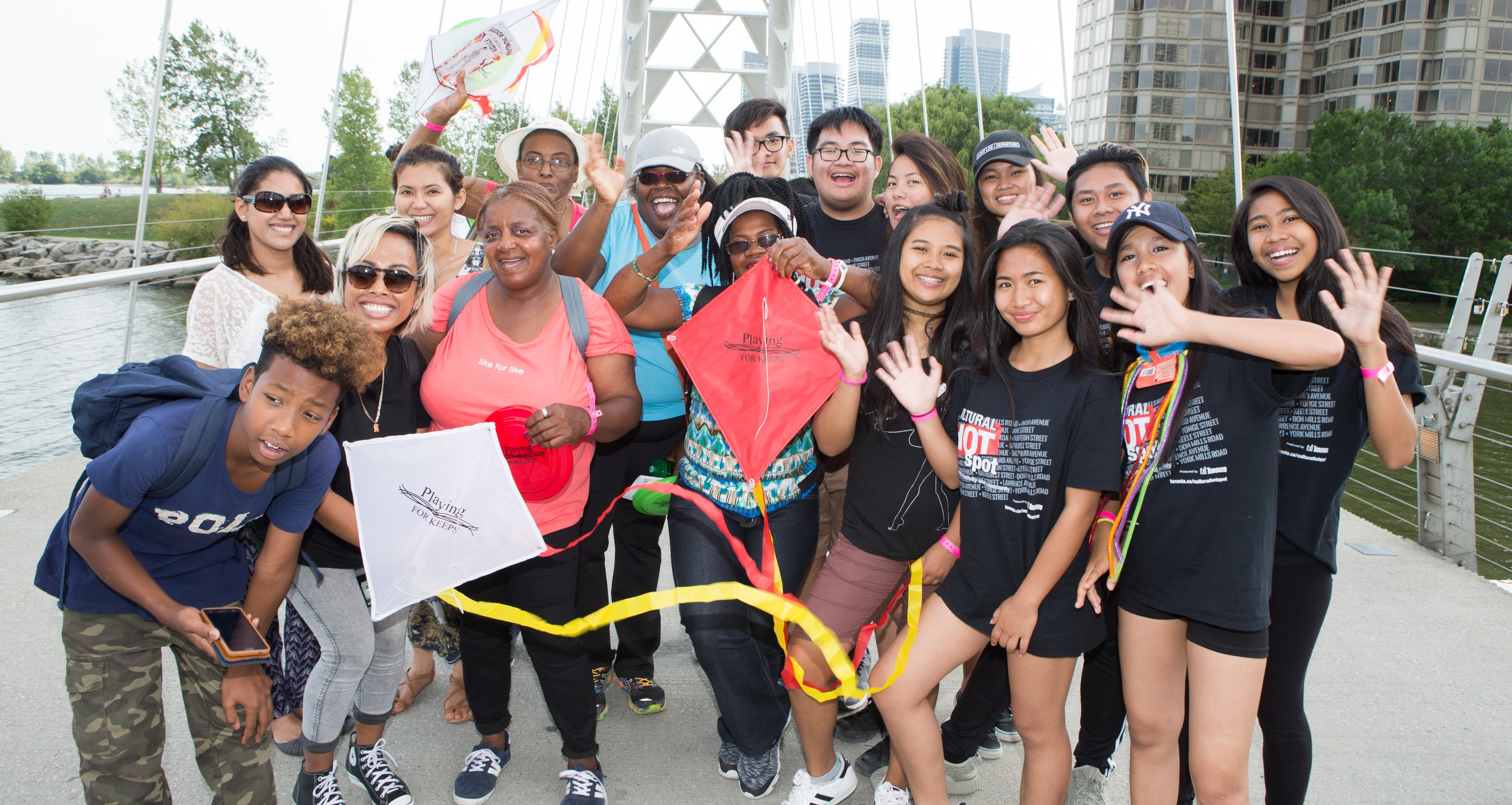 NYCH group photo on the Pan Am Path Discovery Walk