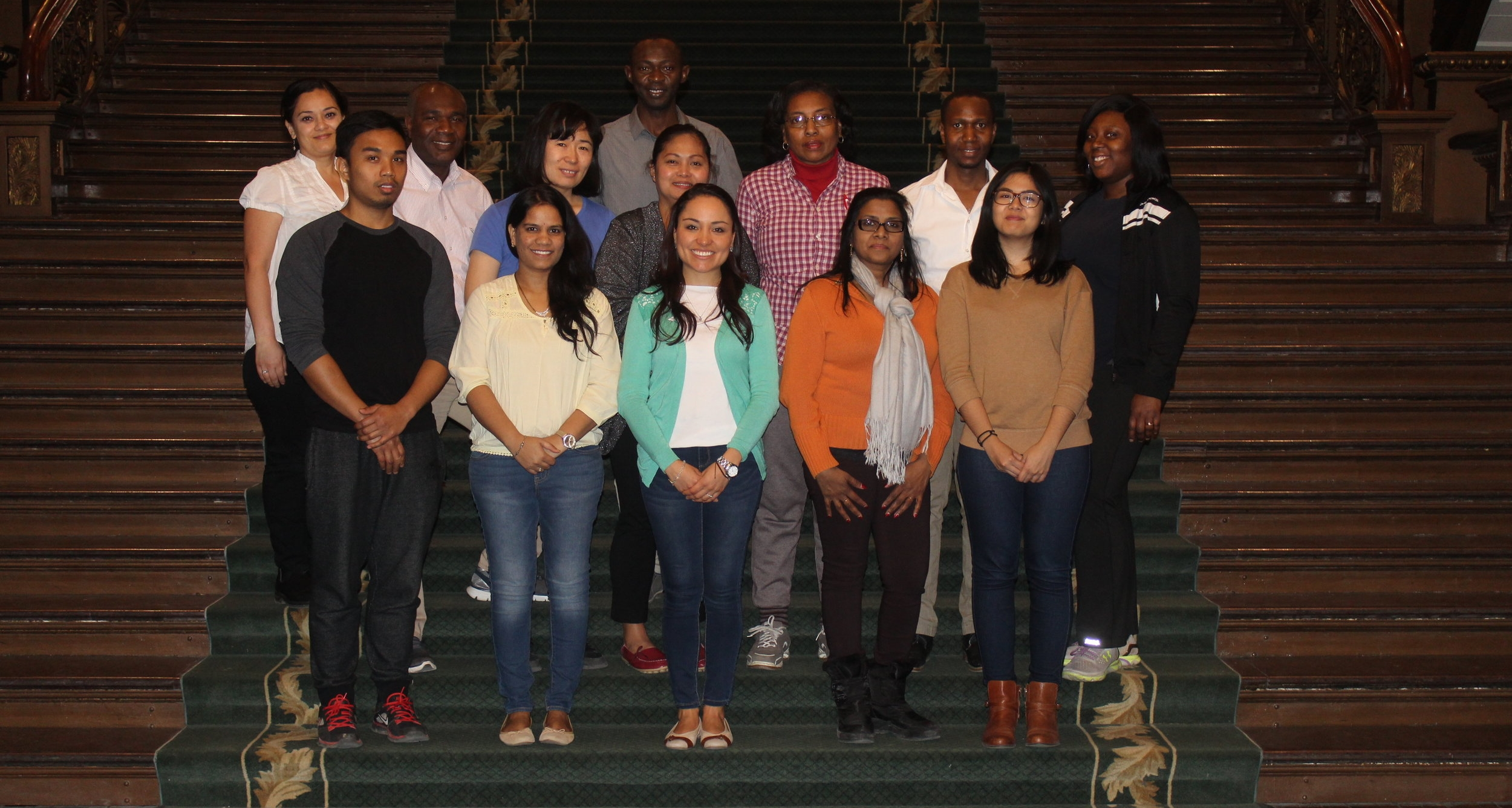Leadership & Community Engagement group visit to Ontario Legislative Building