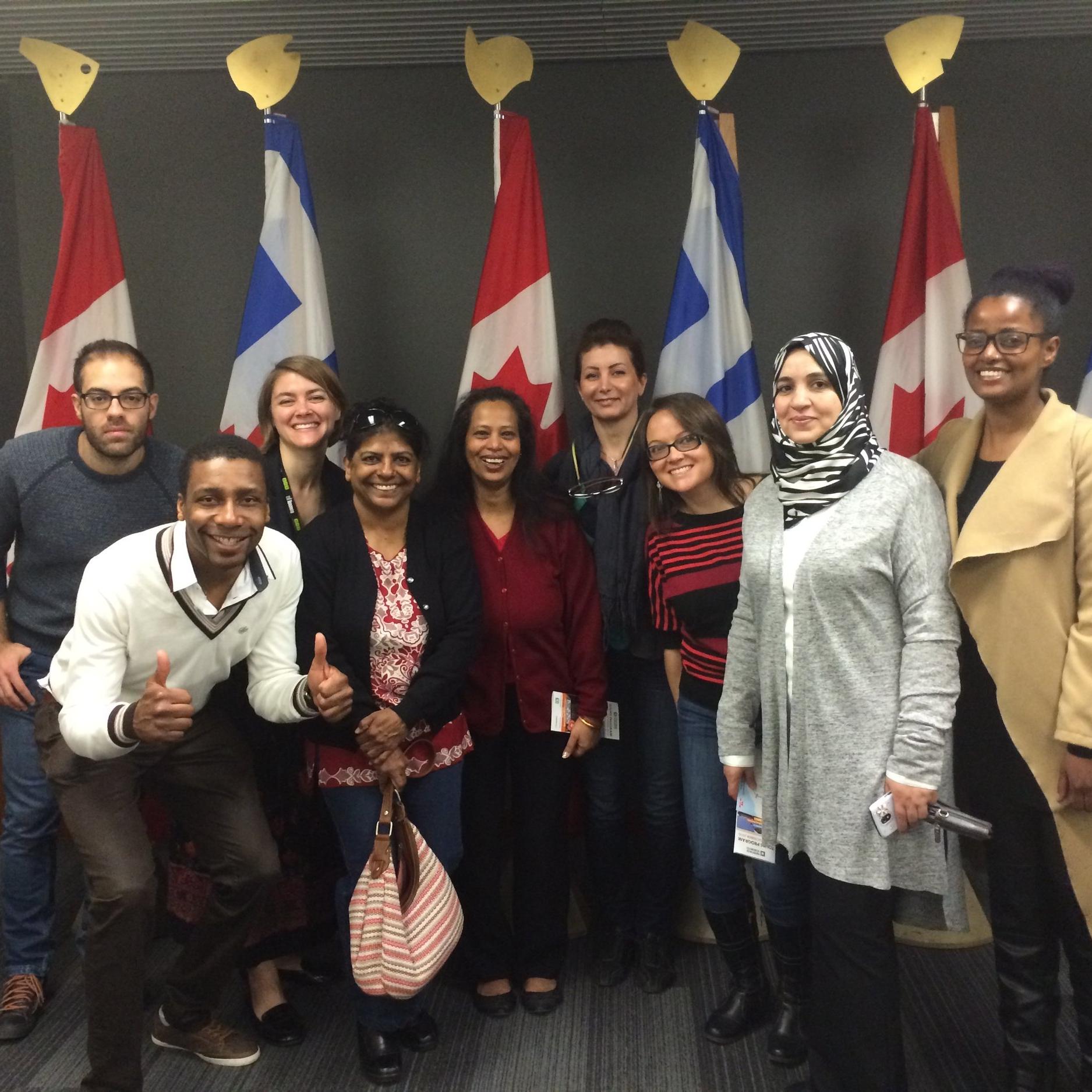 Leadership and Community Engagement group photo