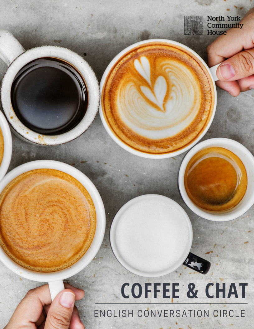 Coffee & Chat: English Conversation Circle — North York