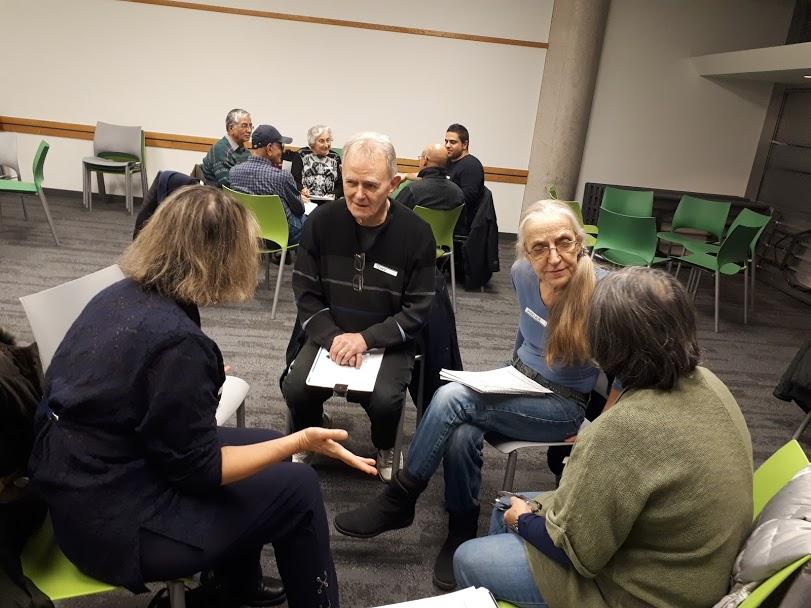 Volunteers at English Conversation Circle