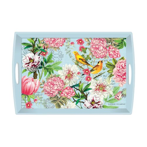 cda304e7b3 Decoupage Rectangular Handle Wooden Tray — Hildreth's Home Goods