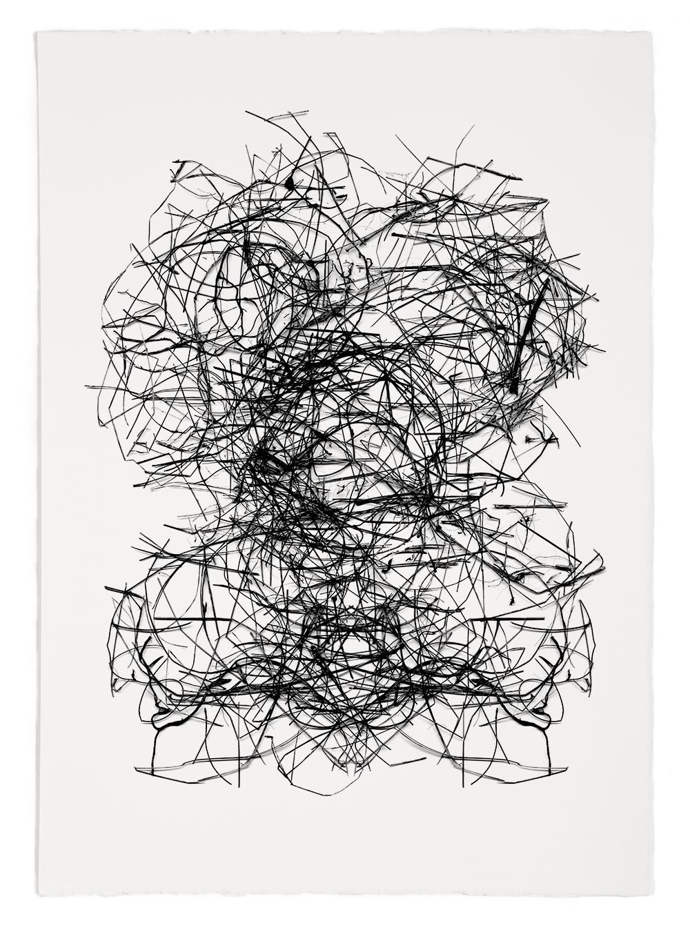 "Reconstruction# 22  , inkjet print, 40 x 32"" 2003"
