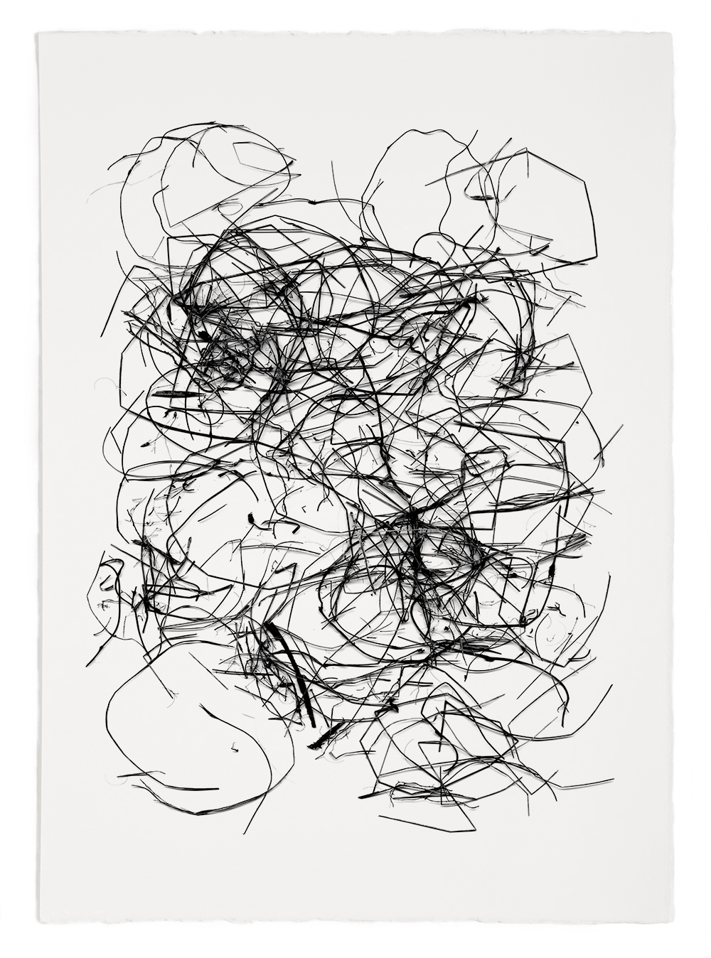 "Reconstruction# 26  , inkjet print, 40 x 32"" 2003"