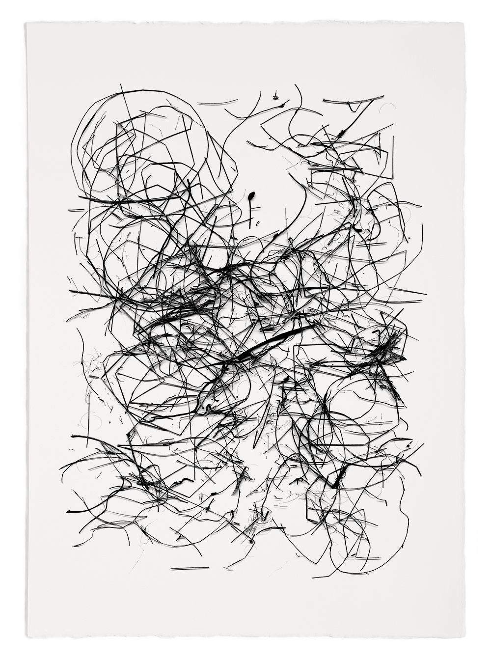 "Reconstruction# 27  , inkjet print, 40 x 32"" 2003"