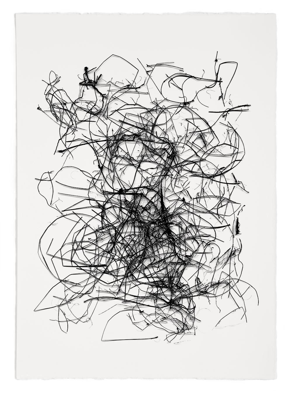 "Reconstruction# 28  , inkjet print, 40 x 32"" 2003"