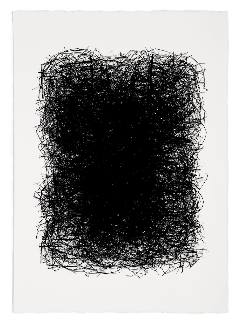 "Reconstruction# 38  , inkjet print, 40 x 32"" 2003"
