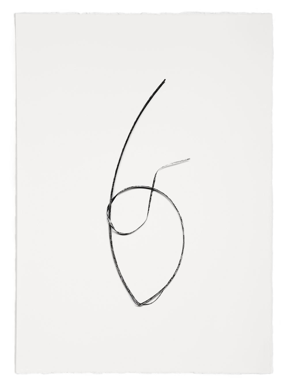 "Blades of Grass # 53  , inkjet print, 40 x 32"" 2003"