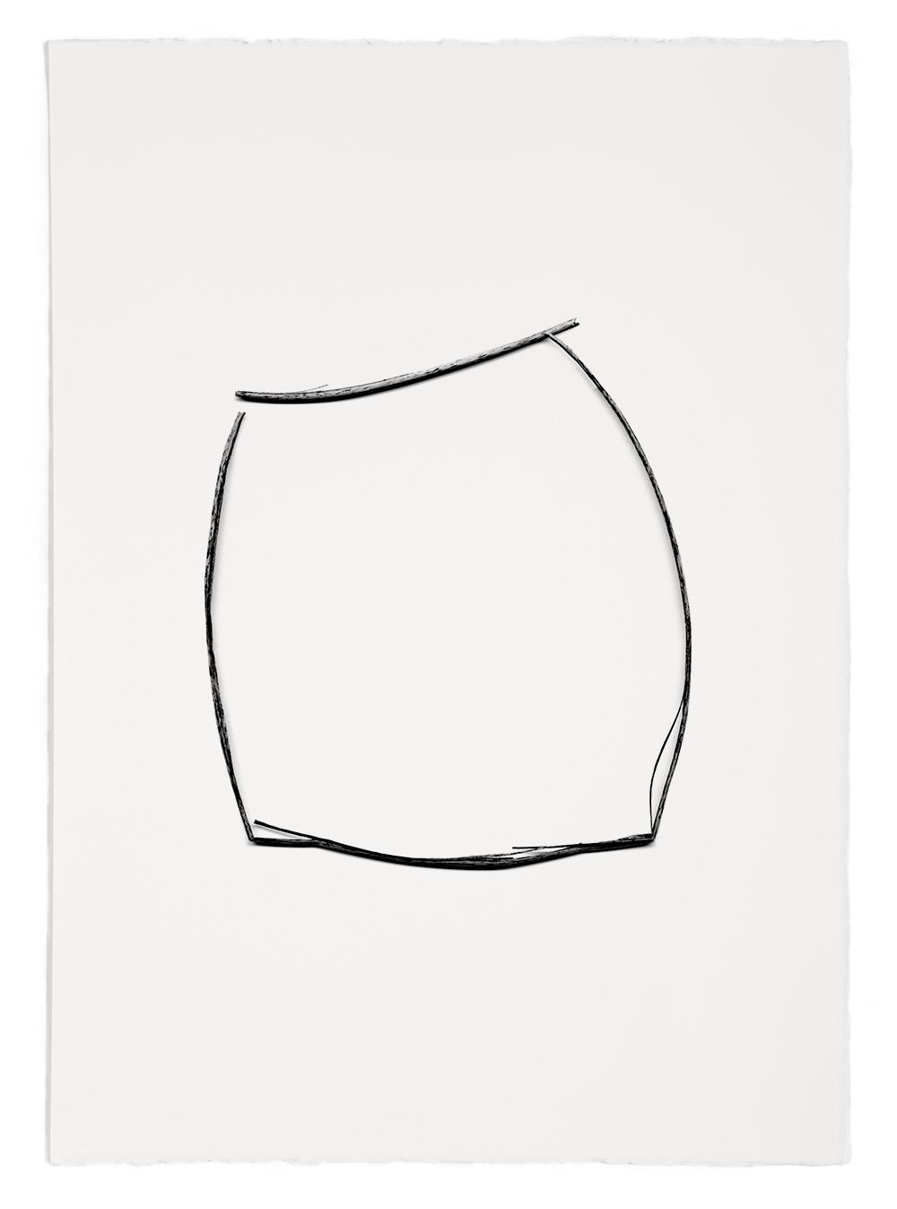 "Blades of Grass# 56  , inkjet print, 40 x 32"" 2003"
