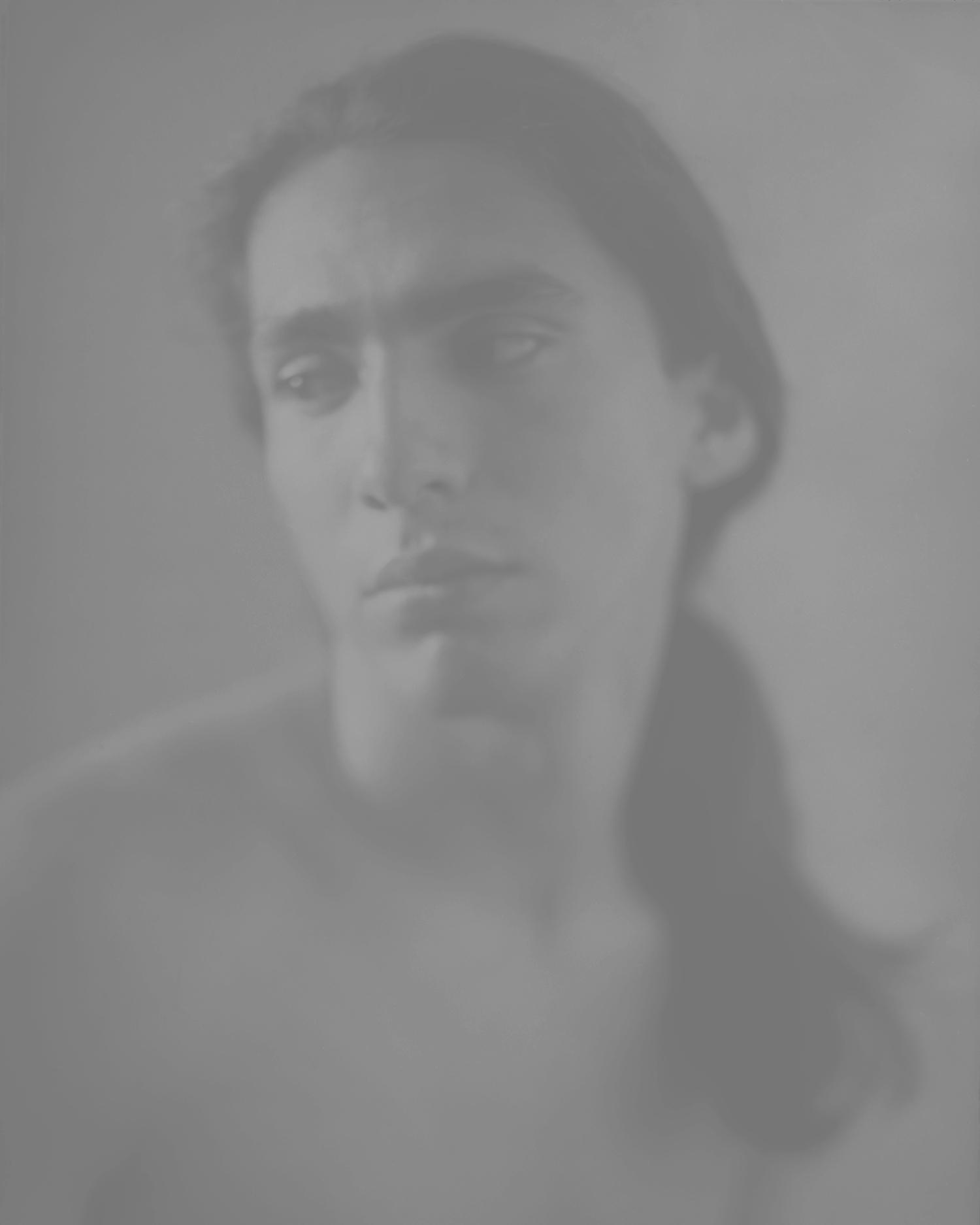"Richard ,photo engravedprint, 4 x 5"" 1989"