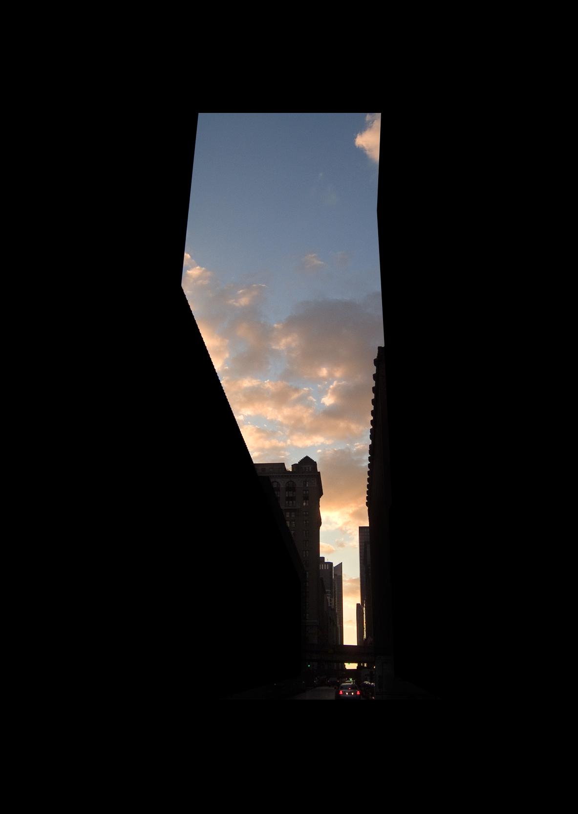 "45thStreet.  , 7 x 5"" 2004"