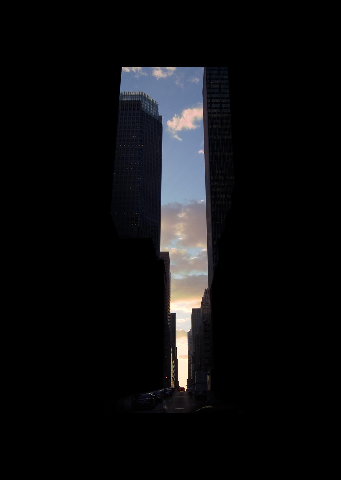 "47thStreet.  , 7 x 5"" 2004"