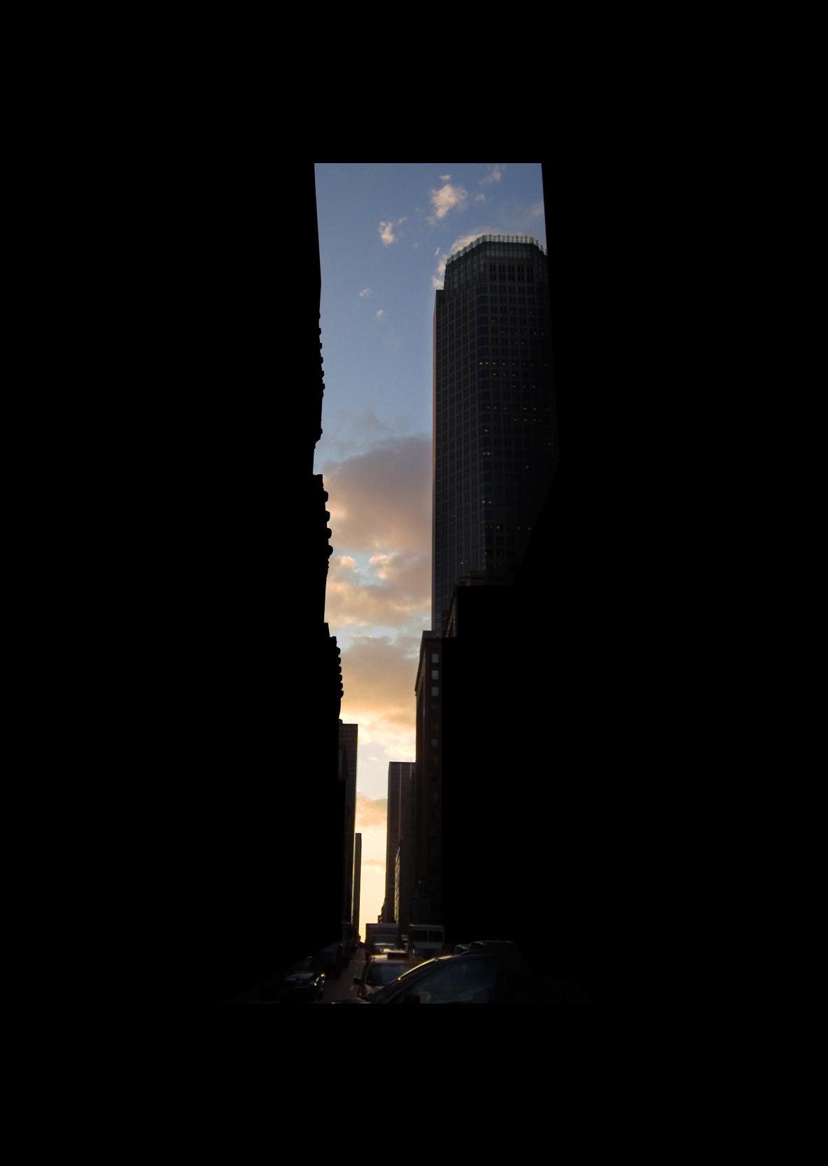 "46thStreet.  , 7 x 5"" 2004"