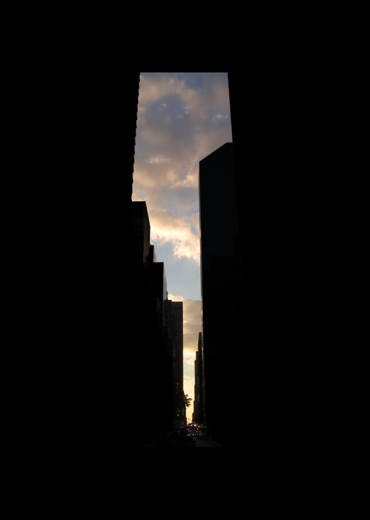 "52nd Street.  , 7 x 5"" 2004"