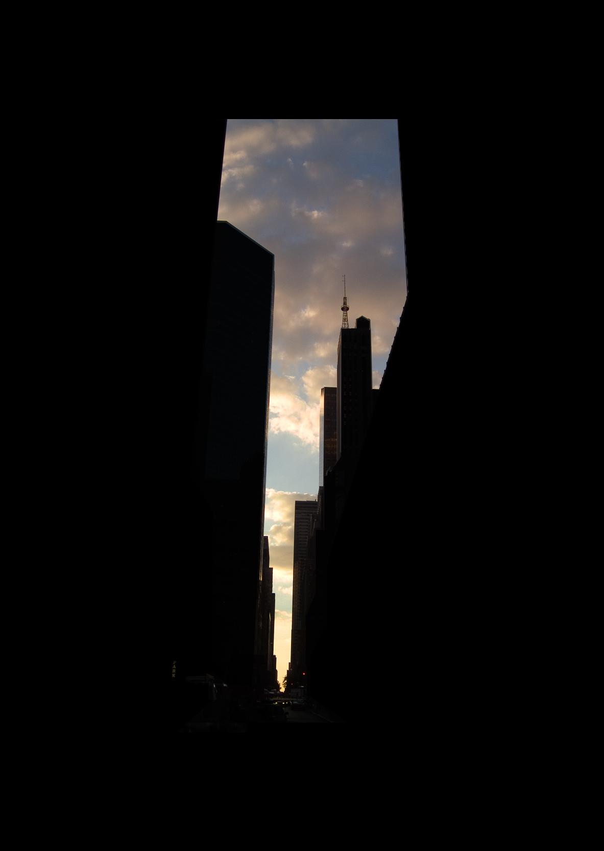 "53rd Street.  , 7 x 5"" 2004"
